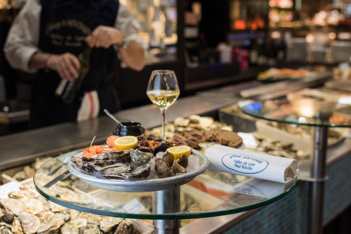 Плато из морепродуктов – Устрицы и моллюски